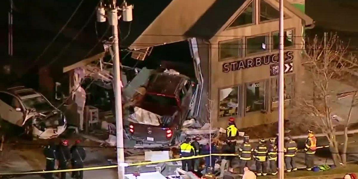 Witnesses describe Starbucks truck crash