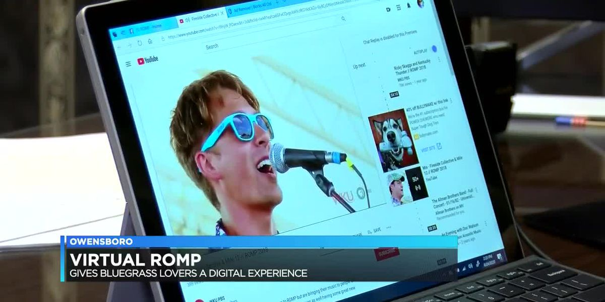 ROMP organizers offer archived music performances for fans to watch online