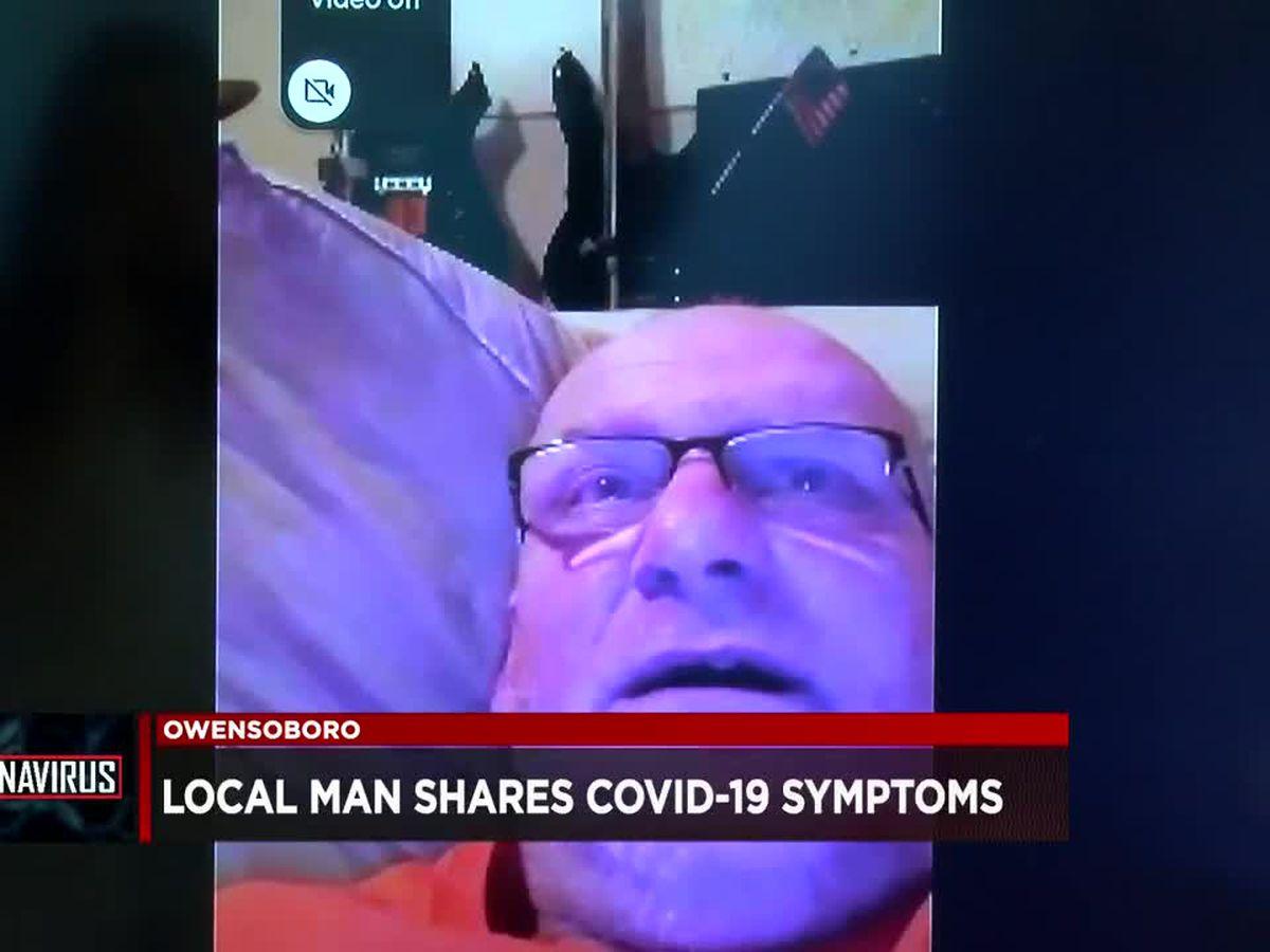 Owensboro man shares experience of battling COVID-19