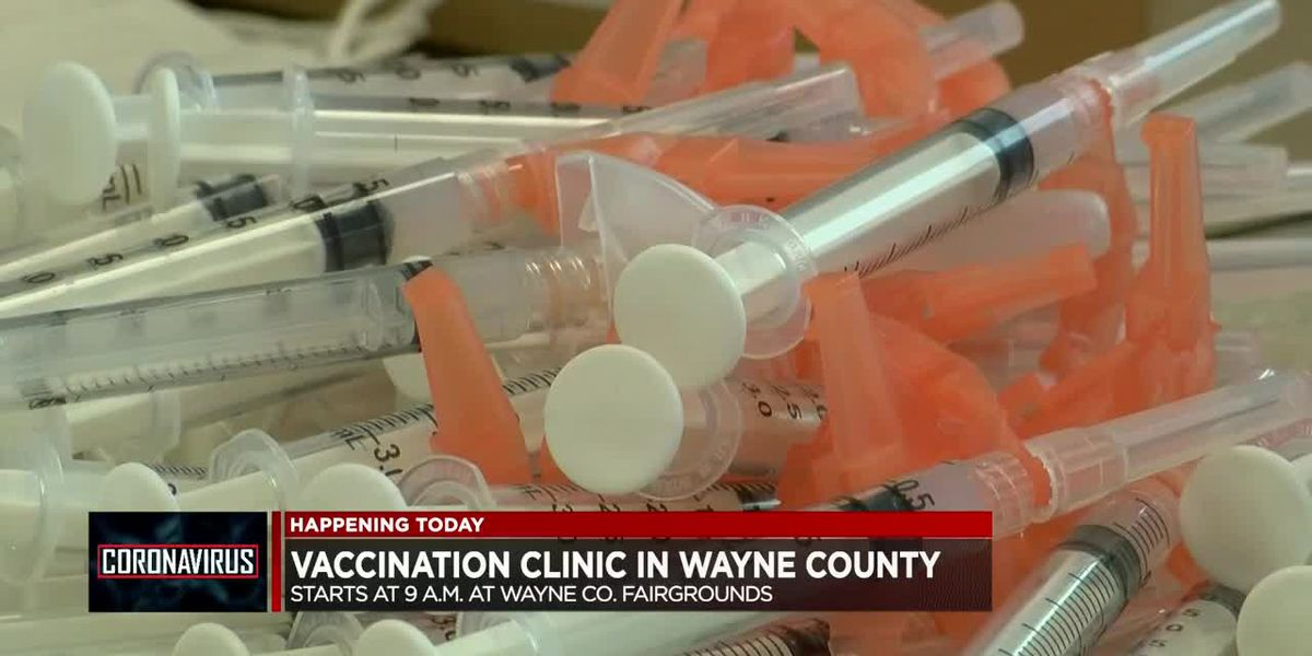 COVID-19 vaccination clinic set for Fri. in Wayne Co.