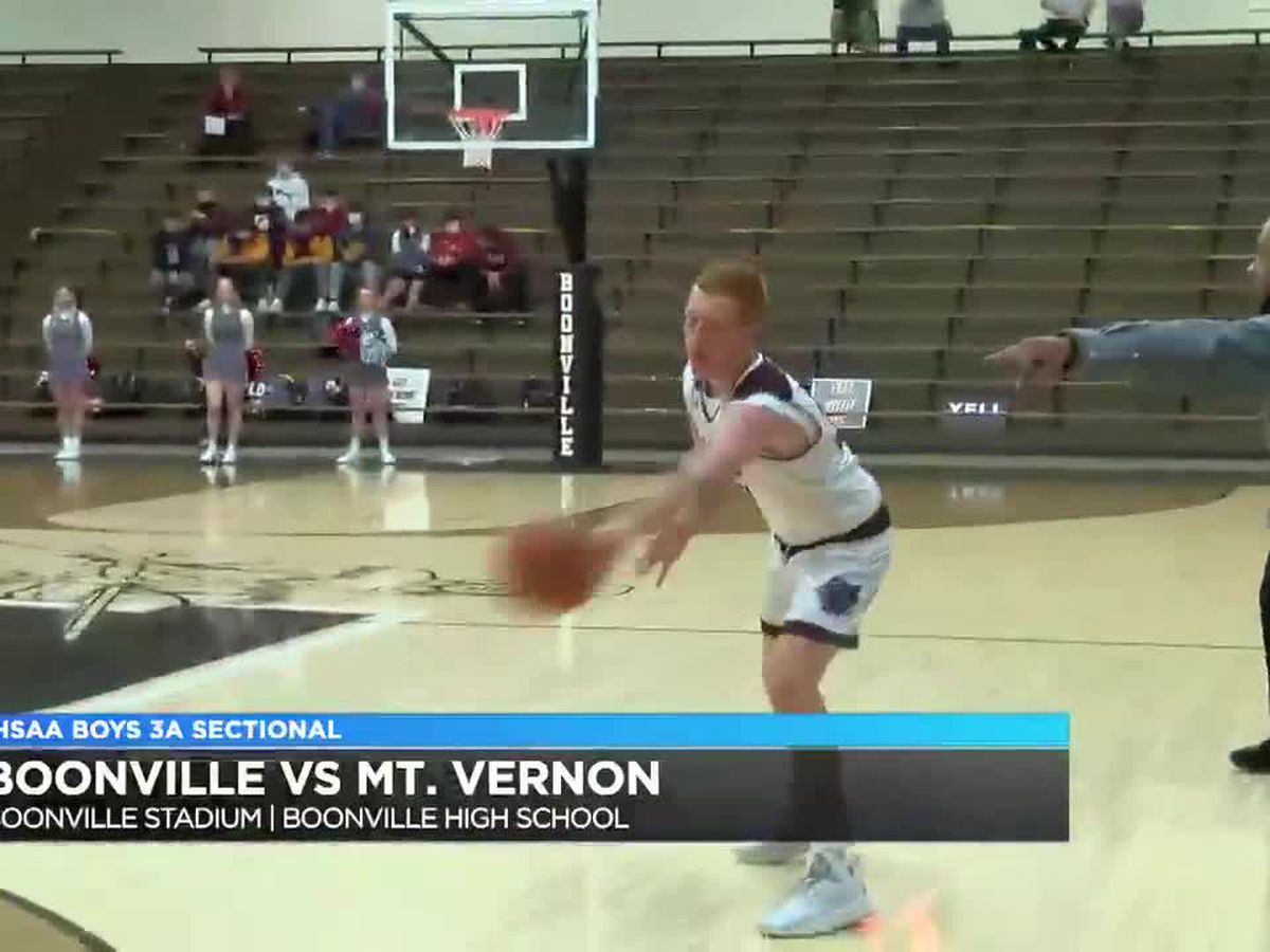 Boys 3A Basketball Sectional: Mt. Vernon vs. Boonville