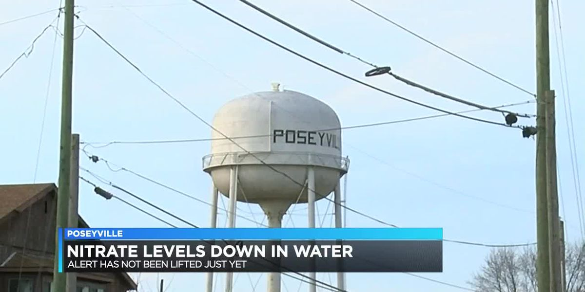 Nitrate levels down in Posey Co. water; alert remains active