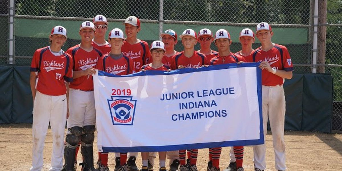 Highland Baseball team gets set for Little League regional round