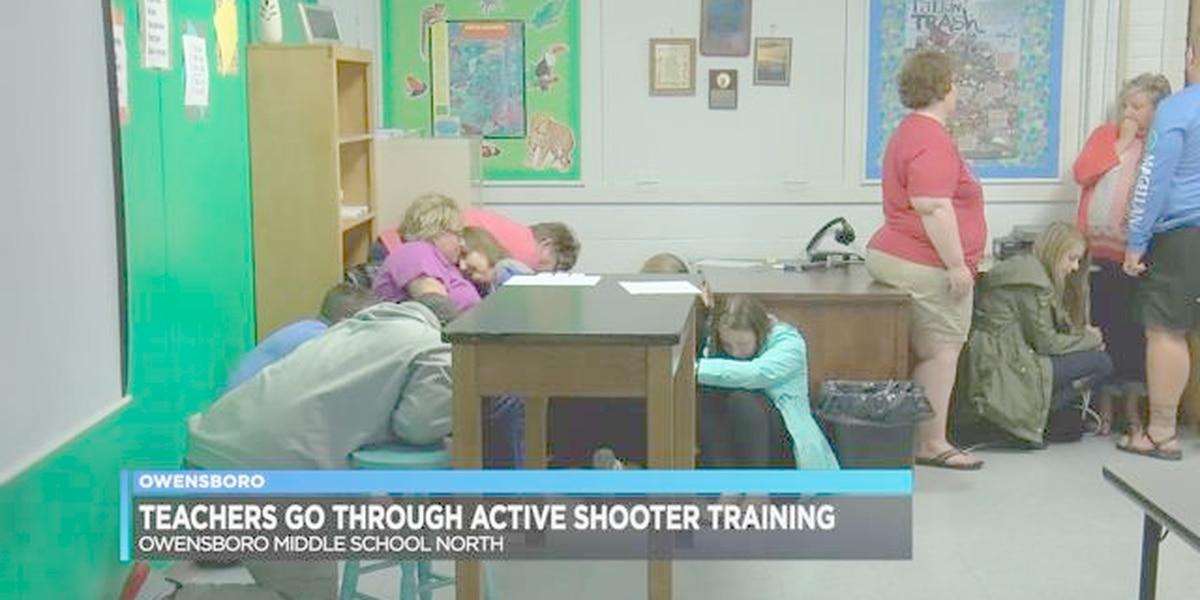 Owensboro teachers go through active shooter training