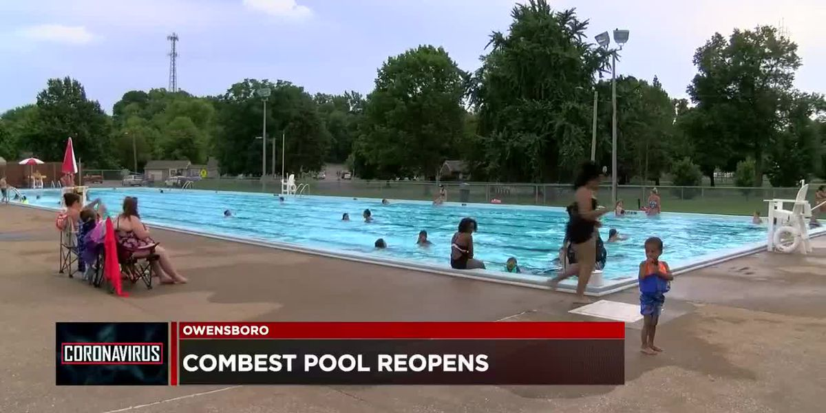 Combest Pool in Owensboro reopens