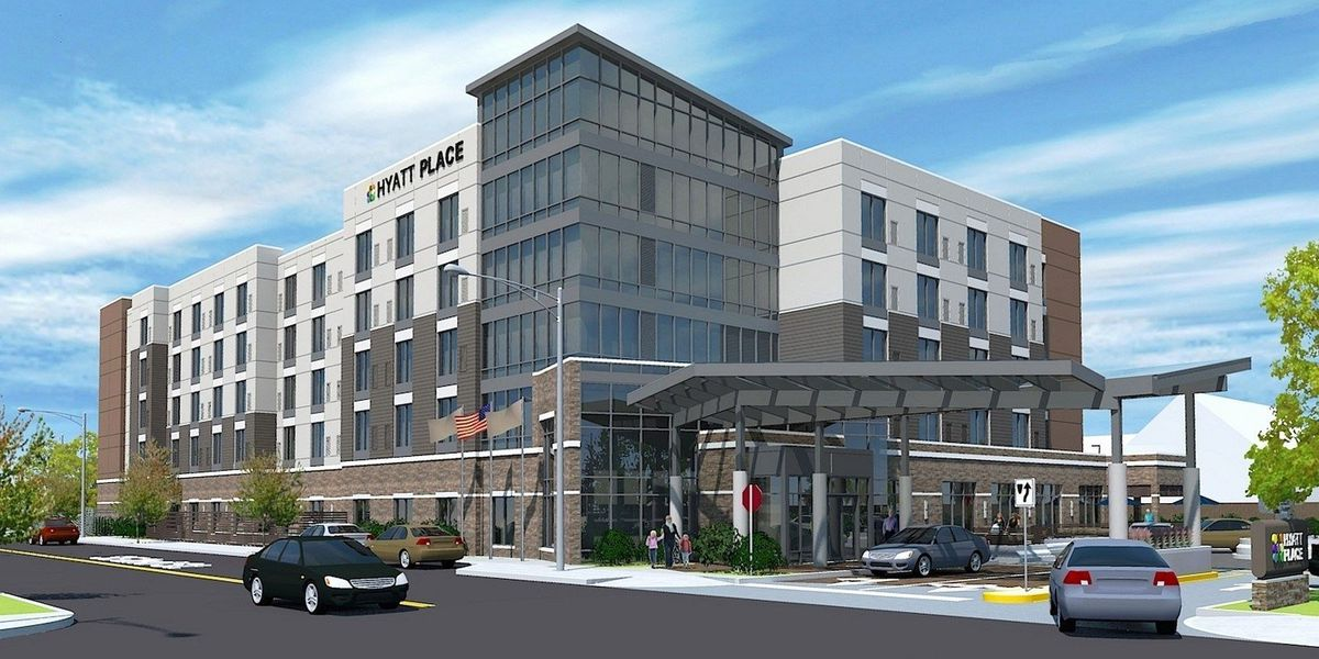 Construction begins on Hyatt Place Hotel; groundbreaking moves $18M investment forward