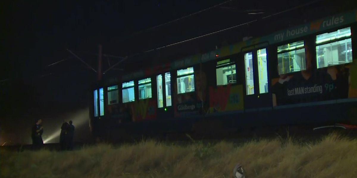 Authorities probe Sacramento light rail crash, 27 injured