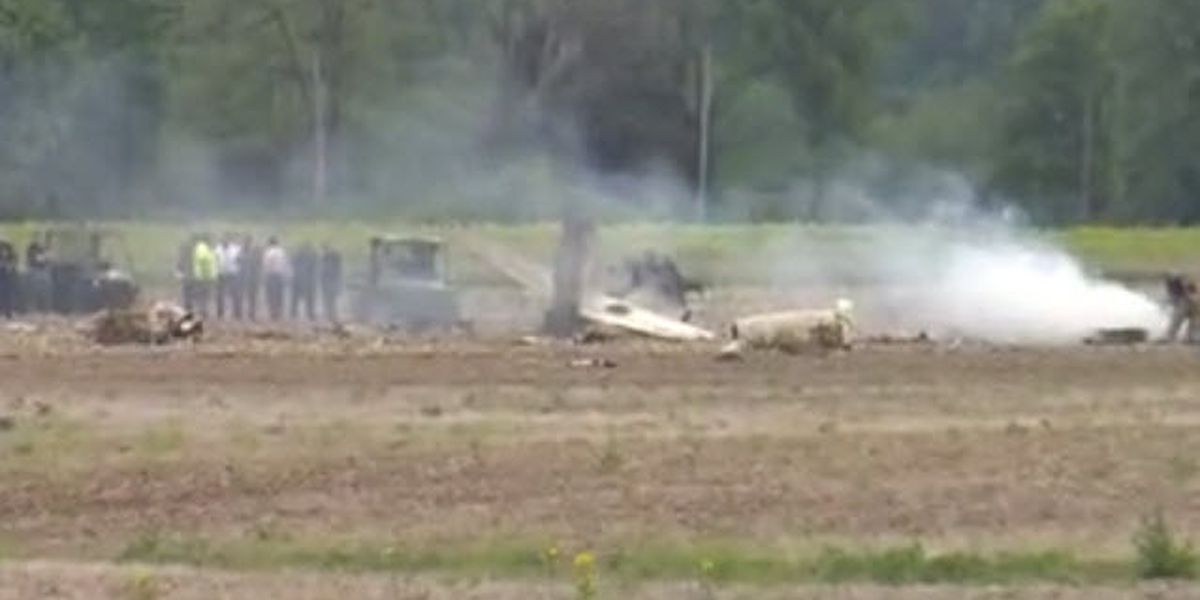 2 dead after small jet crashes in Hancock Co., IN