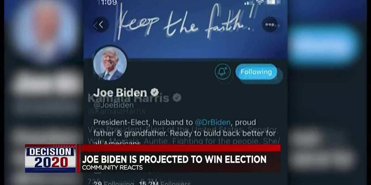 Tri-State reacts to Joe Biden winning 2020 presidential election