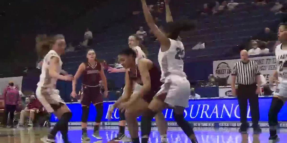Henderson Co. GBB advances to state semifinals with blowout win over Russell