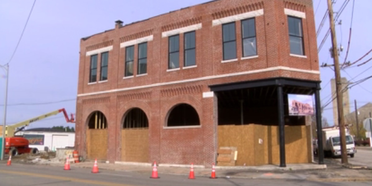 Renovations underway at old Nabisco factory in downtown Evansville