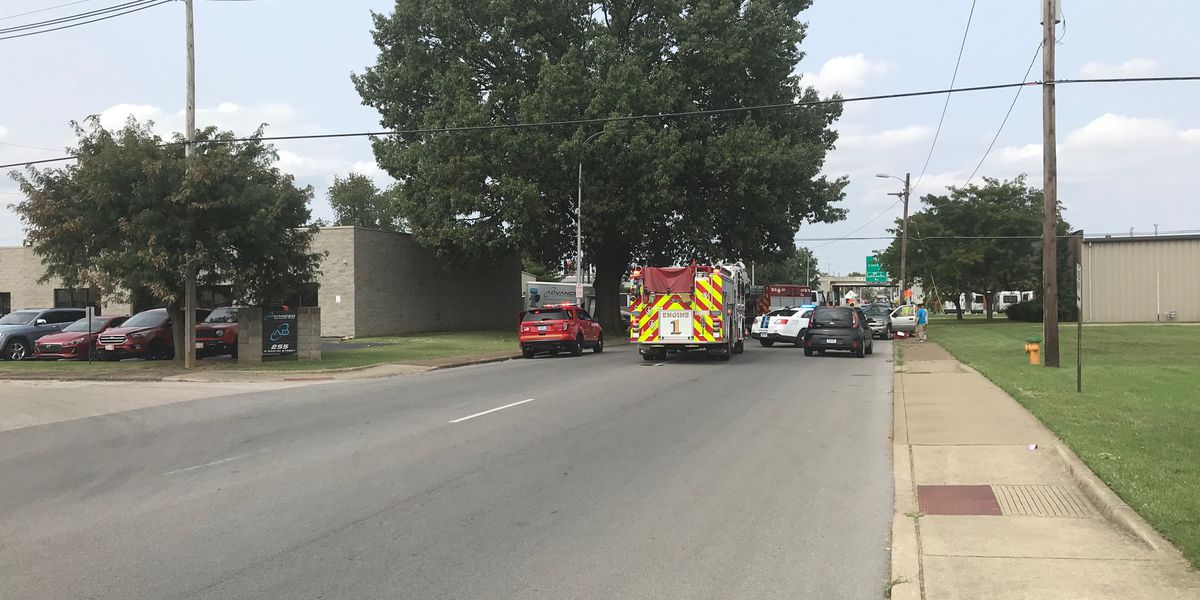 Crash on South Garvin St. sends woman to hospital