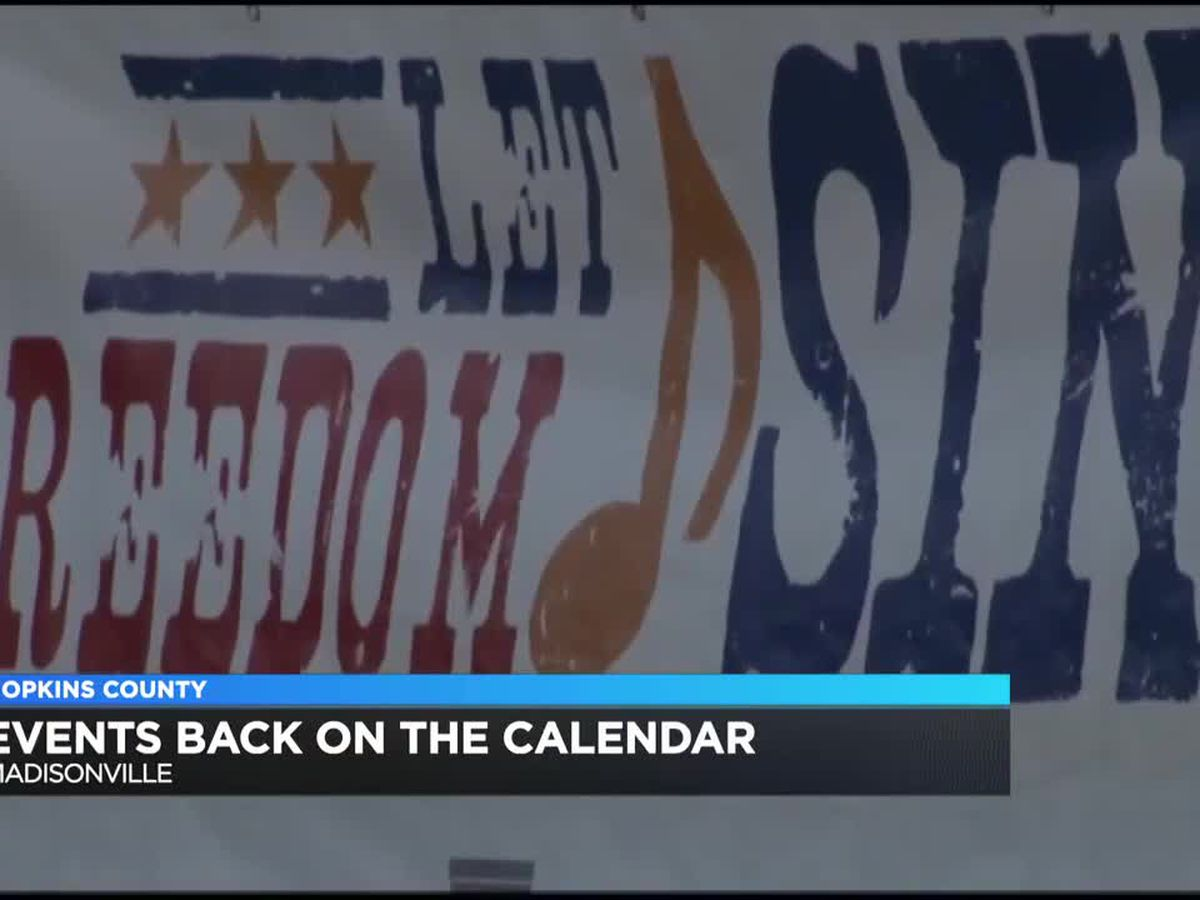 Events back on the calendar in Madisonville this summer