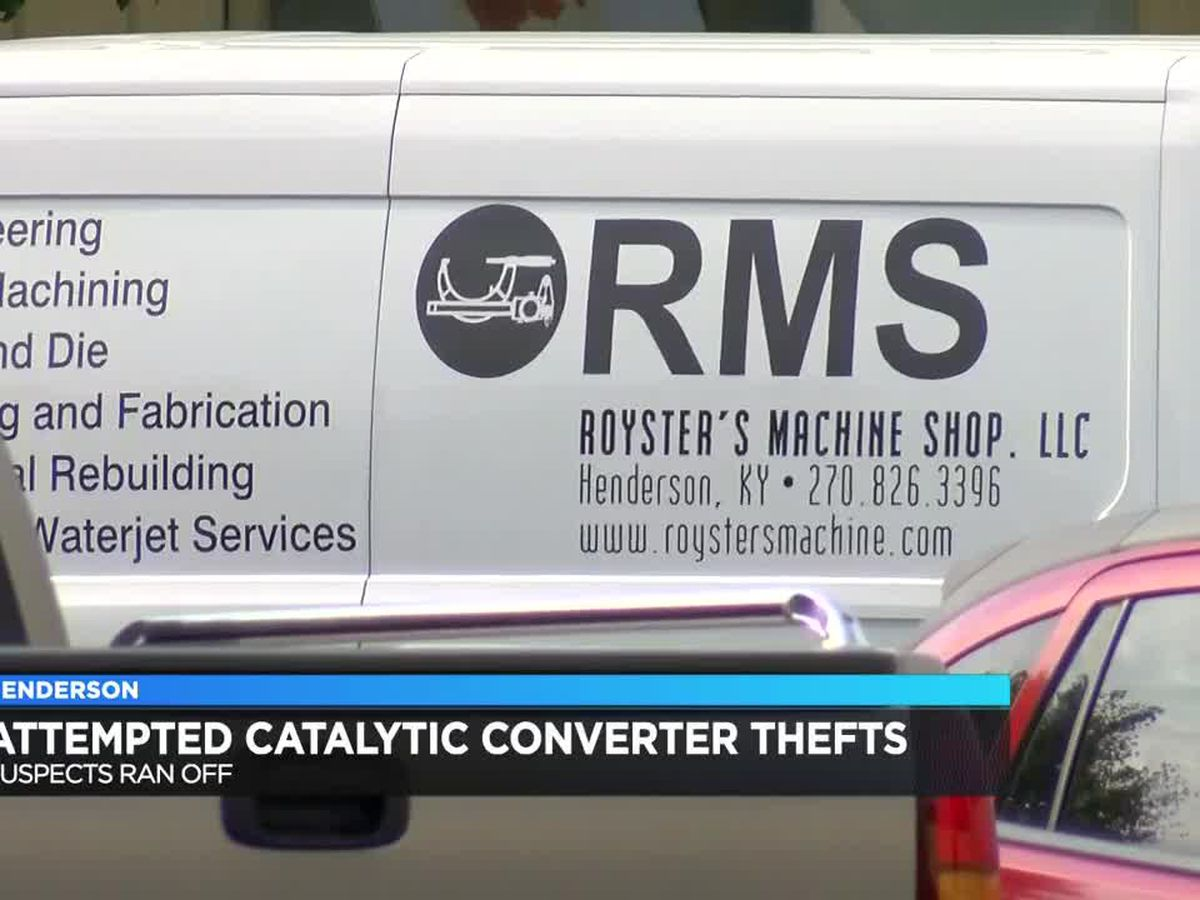 HPD: Suspects ran off after attempted catalytic converter thefts