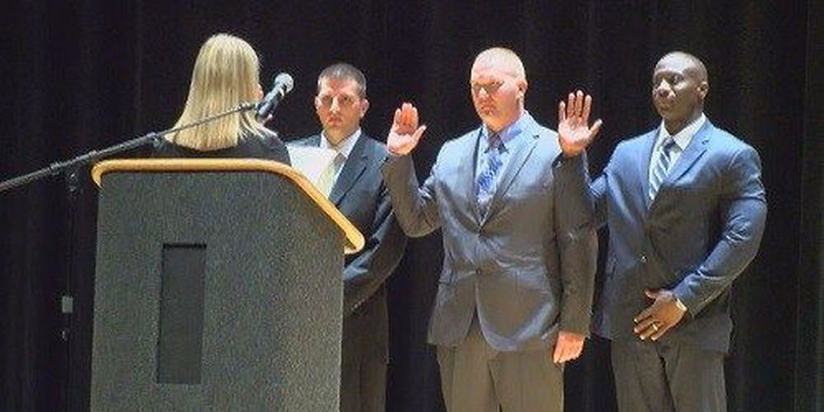 EPD welcomes new officers, several others receive merit awards