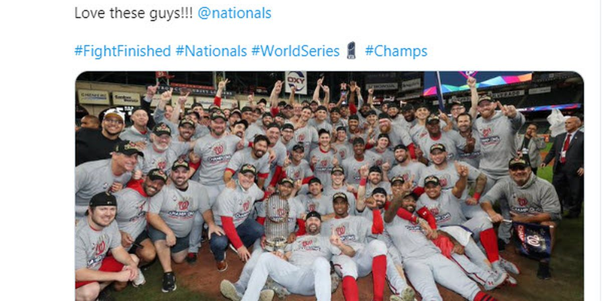 Former Central Bear player now World Series champion