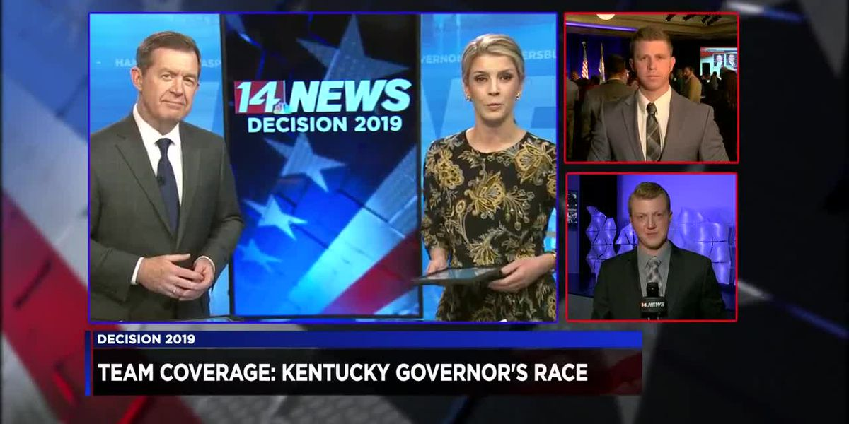 6pm Team Coverage - KY Gov. race