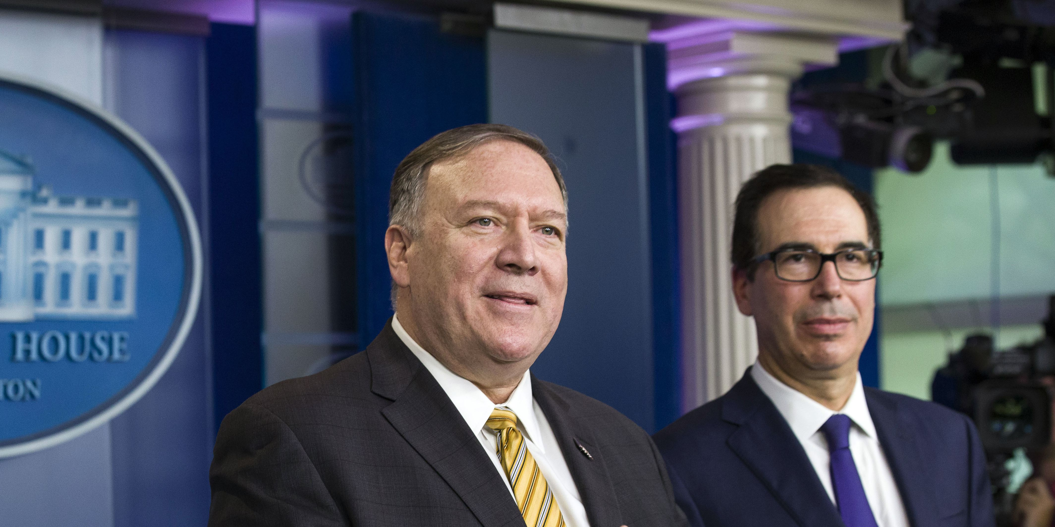 Pompeo, Democrats trade intimidation charges in Trump probe