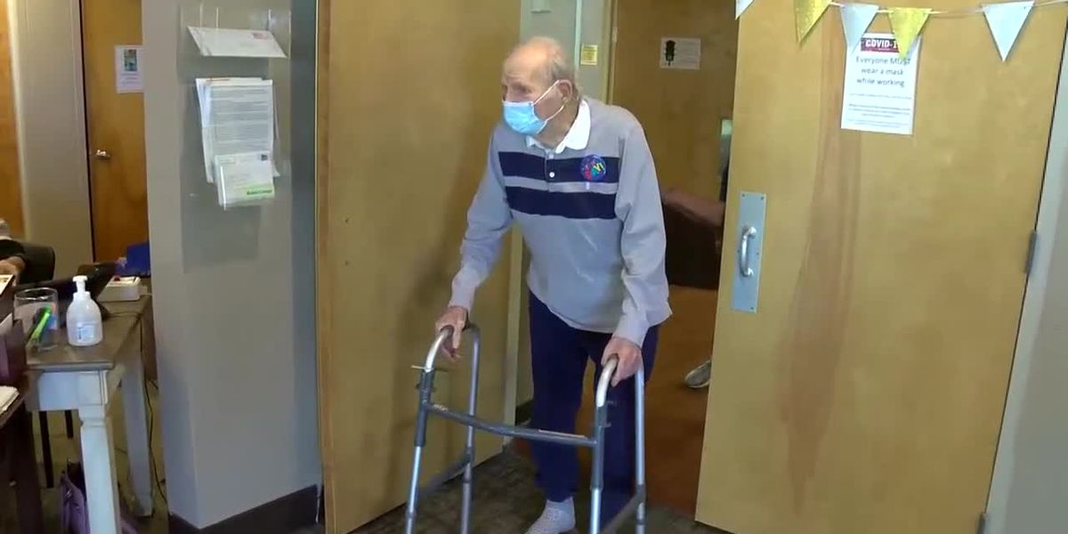 1 year later: Nursing home resident celebrates birthday with hugs