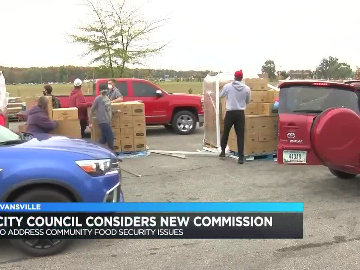 Evansville City Council unanimously passes food security commission ordinance