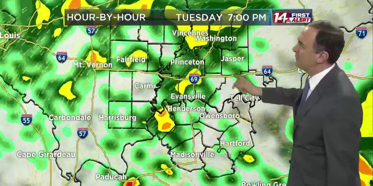 On Alert: Tuesday Storms