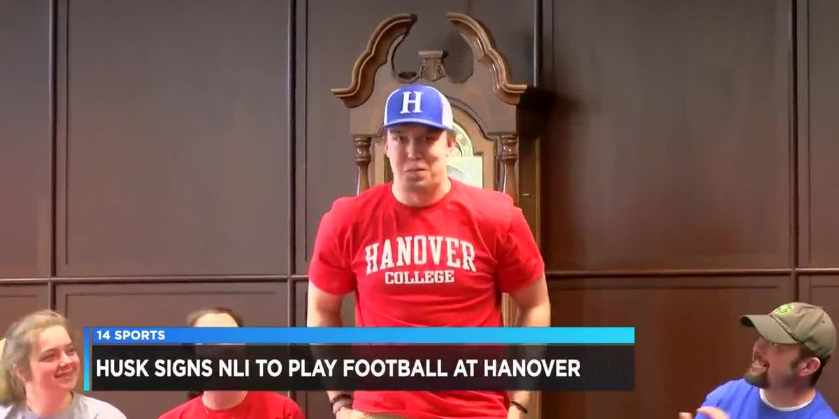 Kyran Husk Signs NLI to Hanover College
