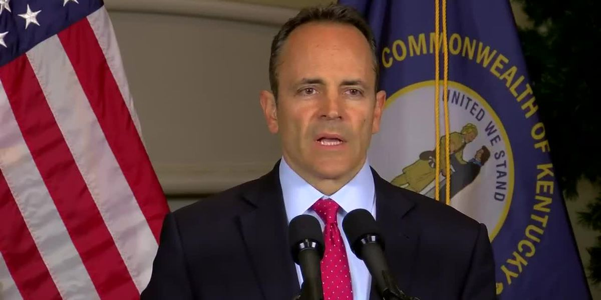 Bevin concedes: 'We're going to have a change in the governorship'