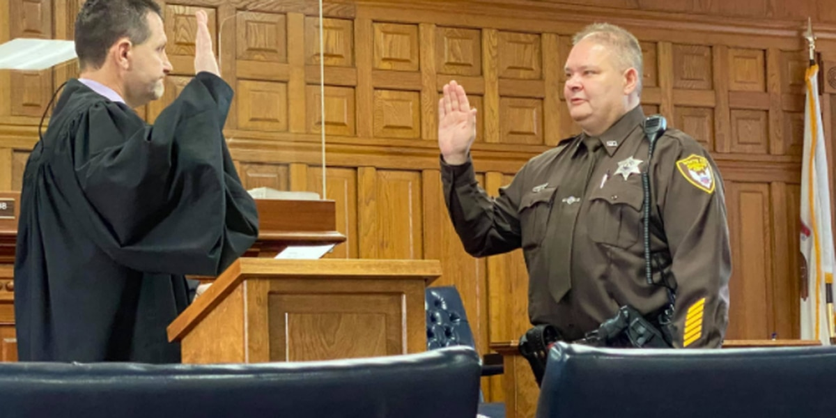 White Co. swore in new sheriff Monday