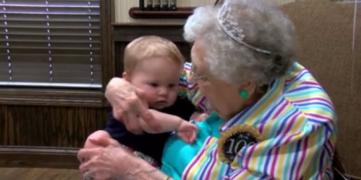 Woman celebrates 100th birthday on property of childhood farm