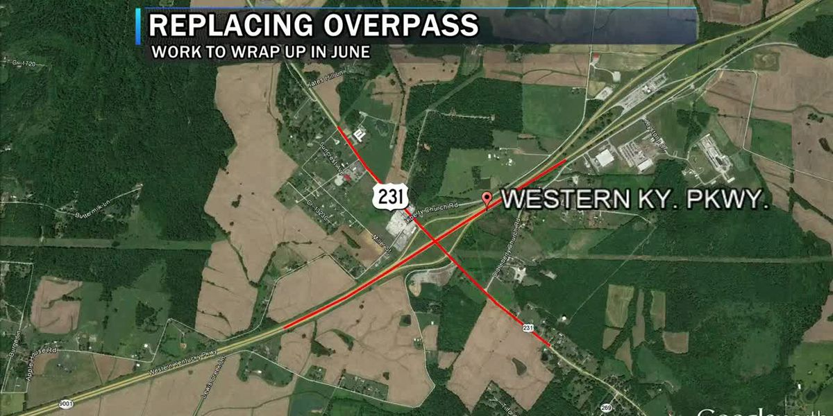 Rehab works starts Friday on Western KY Parkway in Ohio Co.