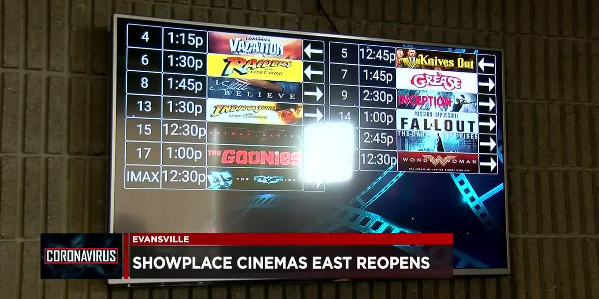 Showplace Cinemas East officially reopens this weekend