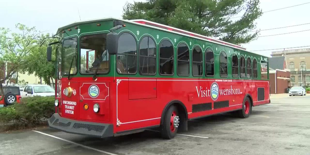 Owensboro trolley rides returning to downtown streets