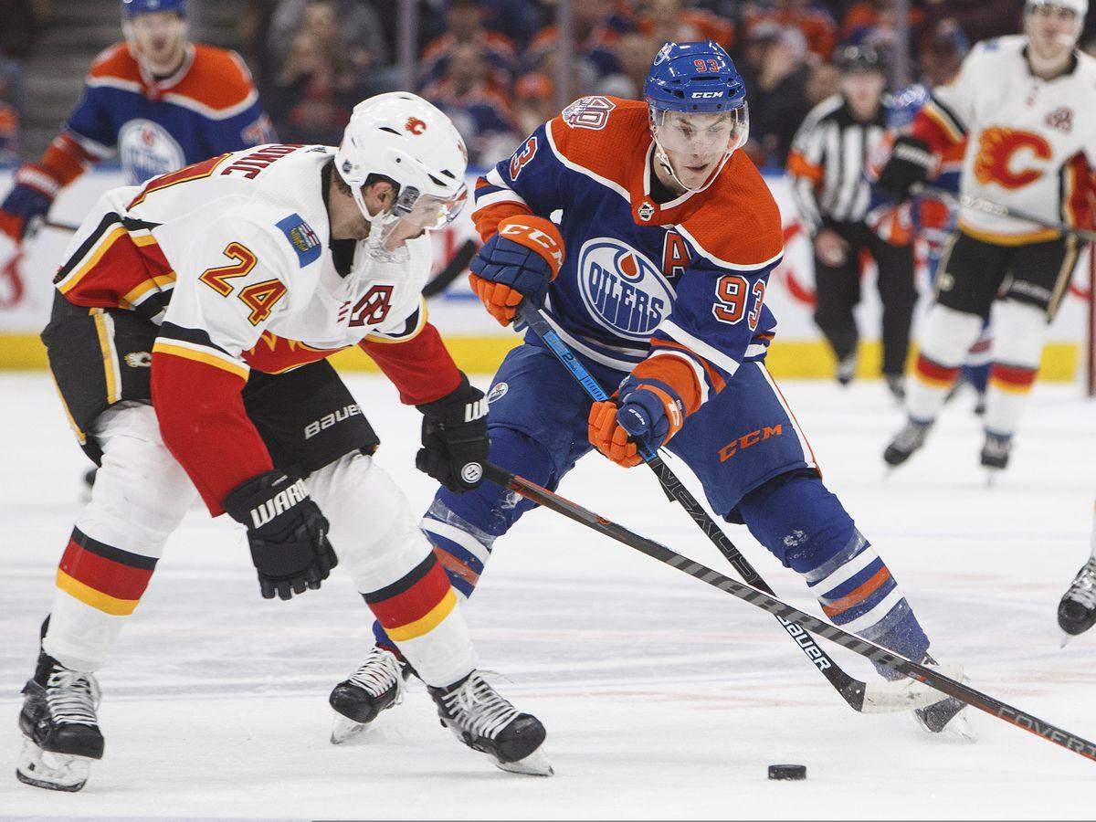 Koskinen, McDavid help Oilers beat Flames 1-0