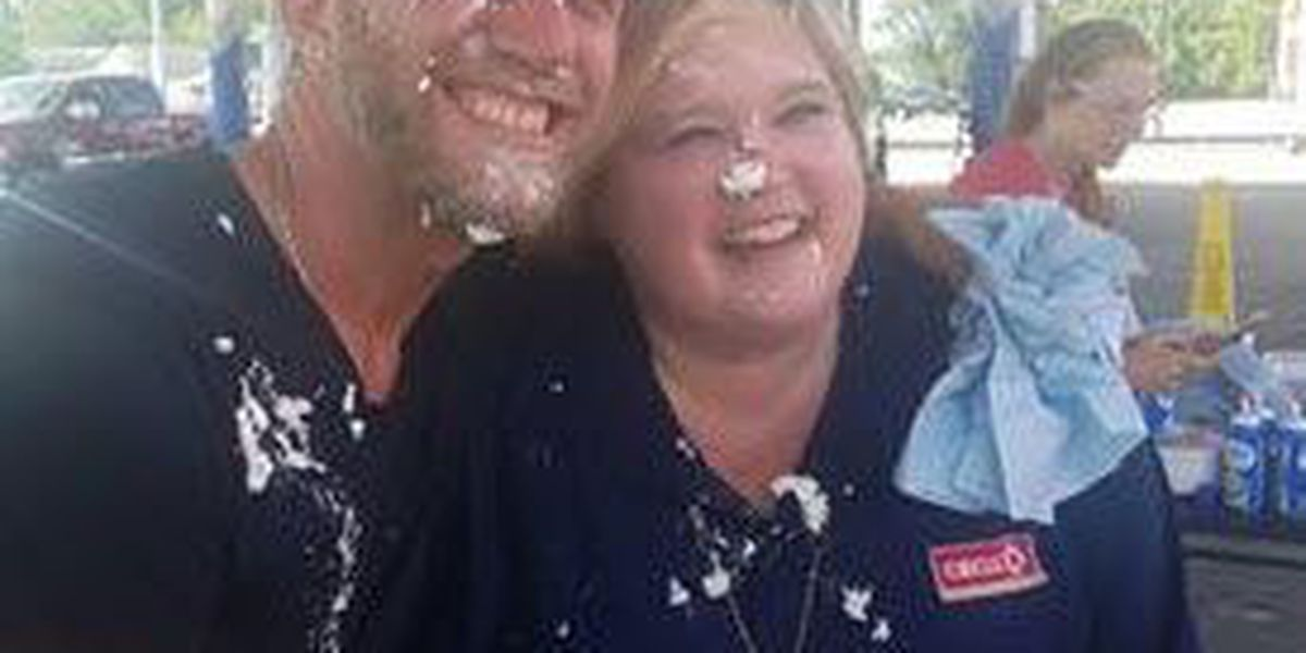 Pies to the face raise thousands for Riley Children's Hospital