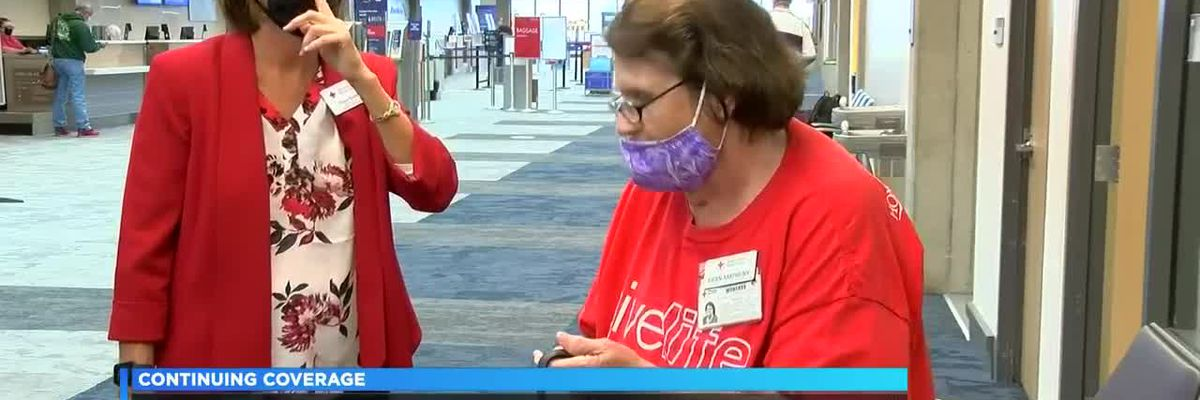 84-year-old Red Cross volunteer heads west to help those affected by California wildfires