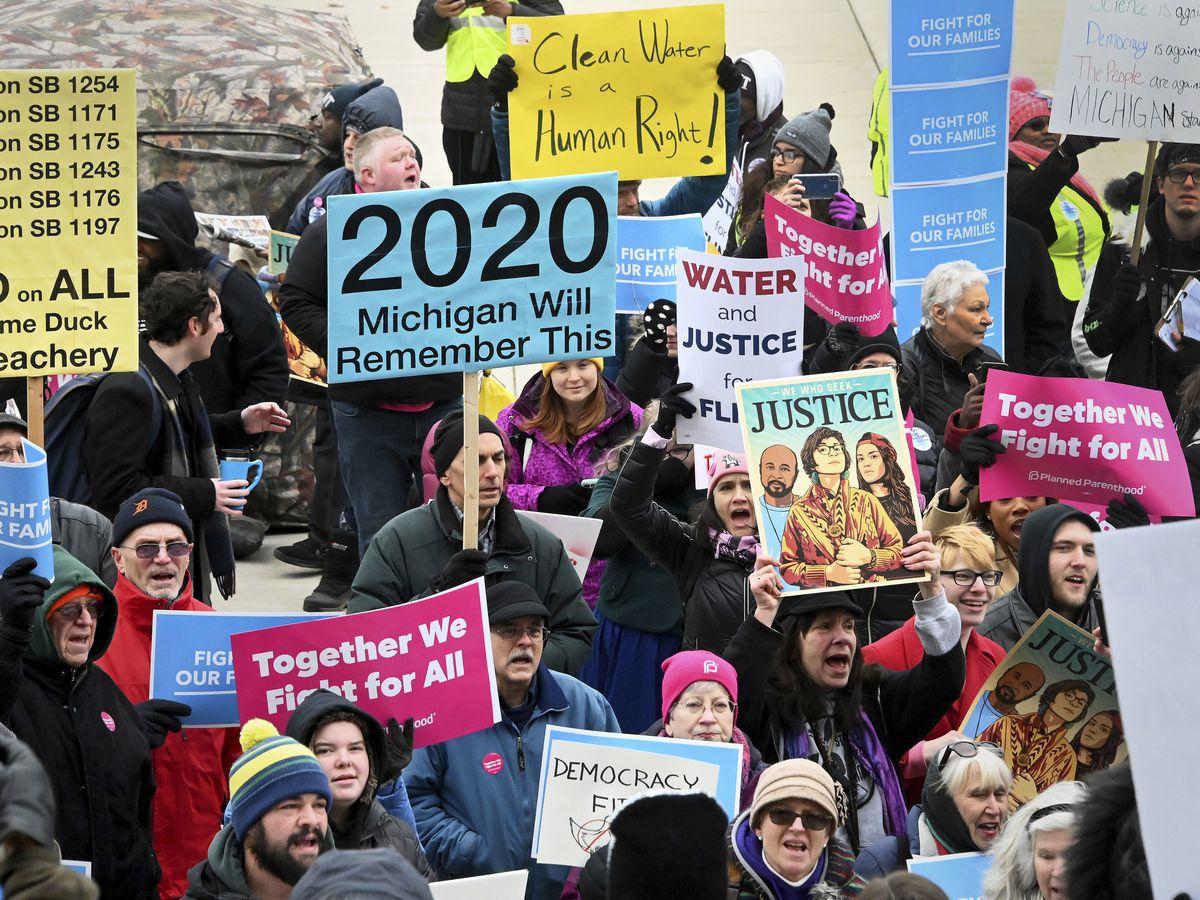 Michigan GOP advances bill to make ballot drives harder