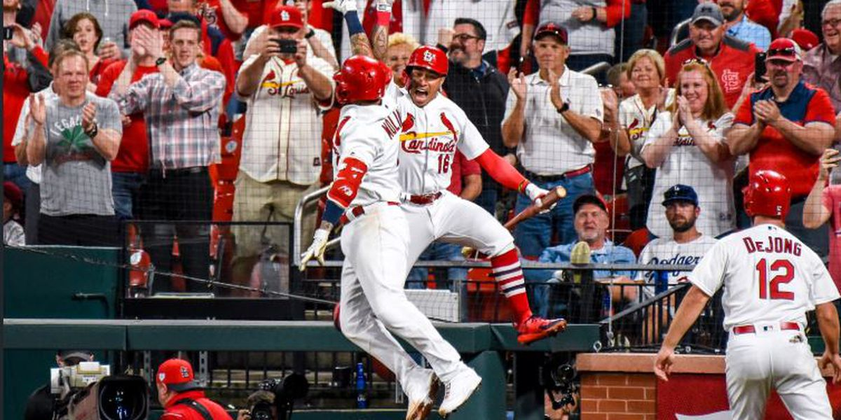 Molina, Ozuna homer as Cards top Dodgers 7-2 for 4th in row