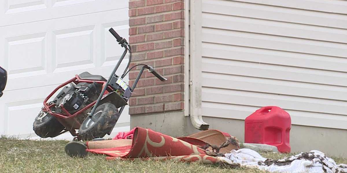 Kentucky woman accidentally sets herself on fire while smoking, filling motorbike gas tank