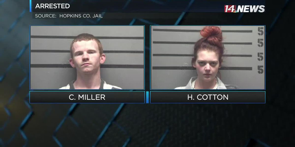 Two arrested in Hopkins Co. on drug charges