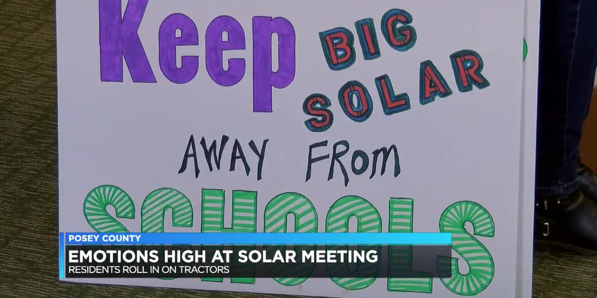 Emotions run high at solar meeting in Posey Co.