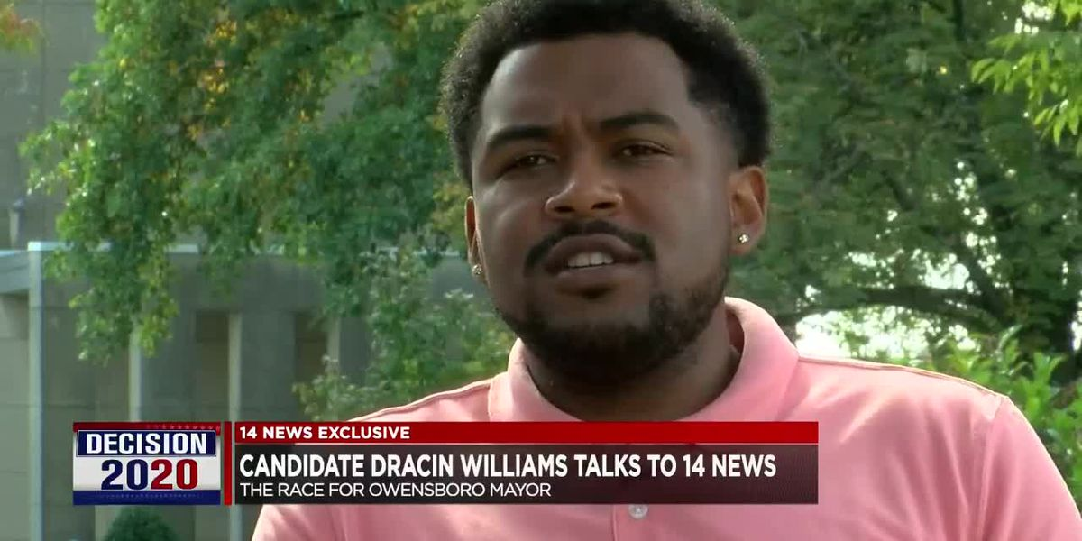 Owensboro Mayoral Race: Candidate Dracin Williams sits down with 14 News
