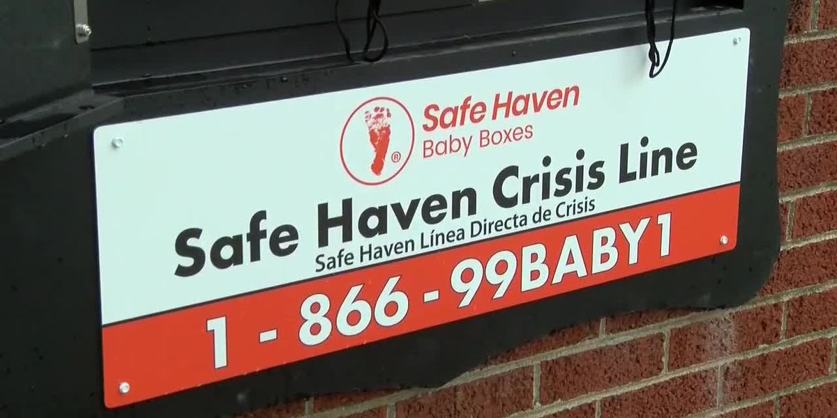 Boonville Fire Department unveils Safe Haven Baby Box