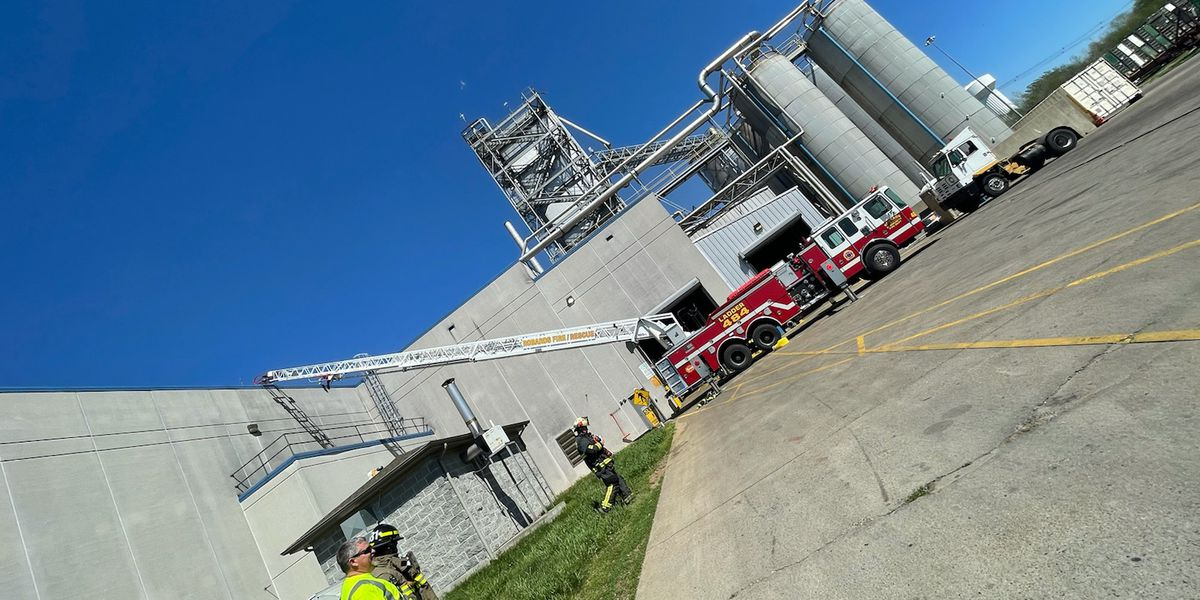 No injuries or structure damage reported after fire at Tyson Foods in Henderson Co.