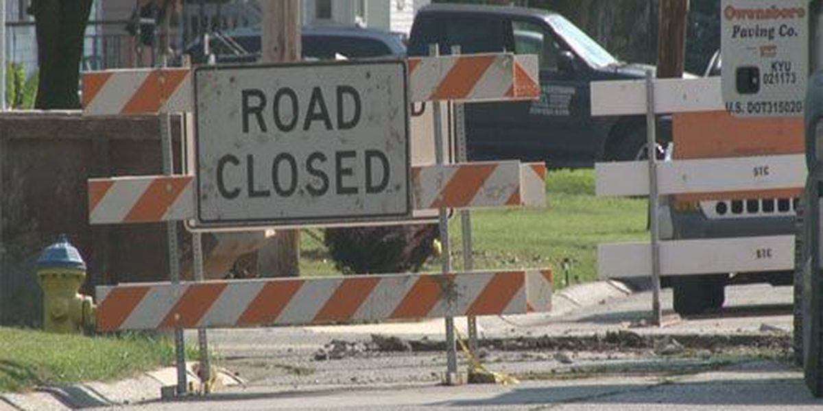 Owensboro intersection to close for storm sewer installation