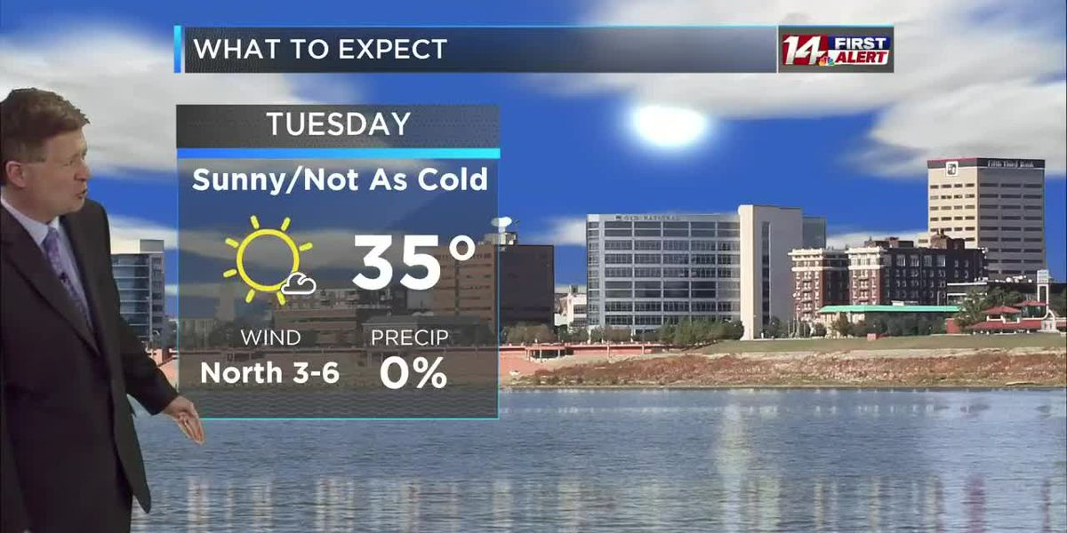 Monday afternoon 14 First Alert Forecast