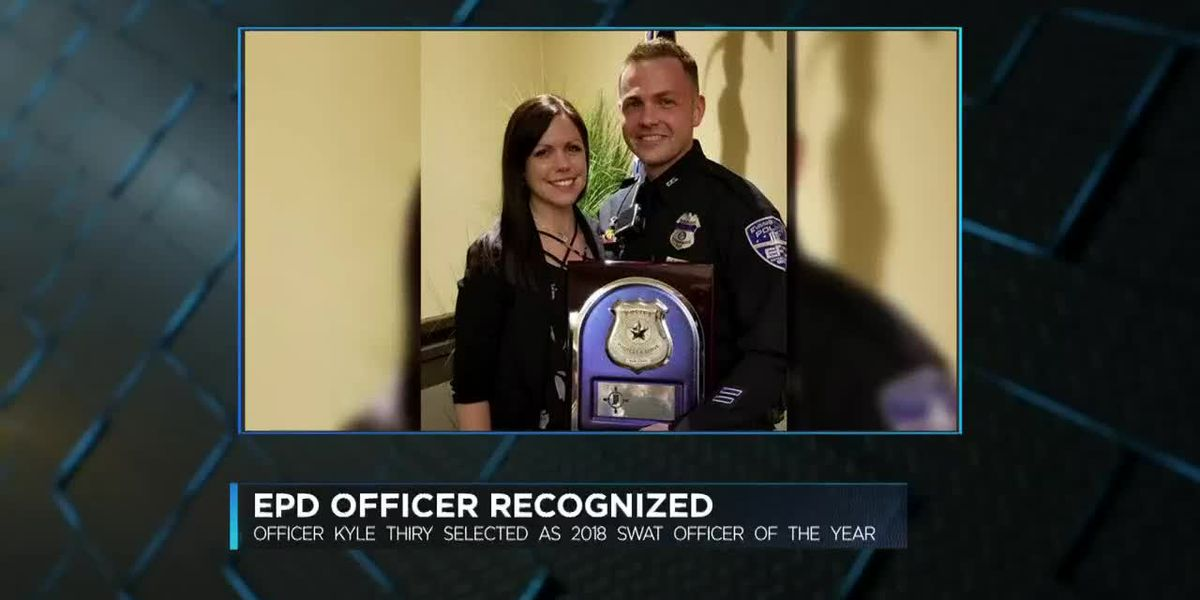 EPD Officer receives top IN SWAT award