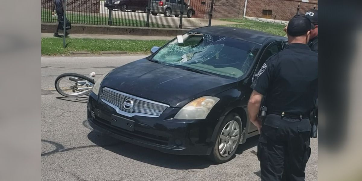 Evansville police identify bicyclist seriously hurt in Tuesday crash