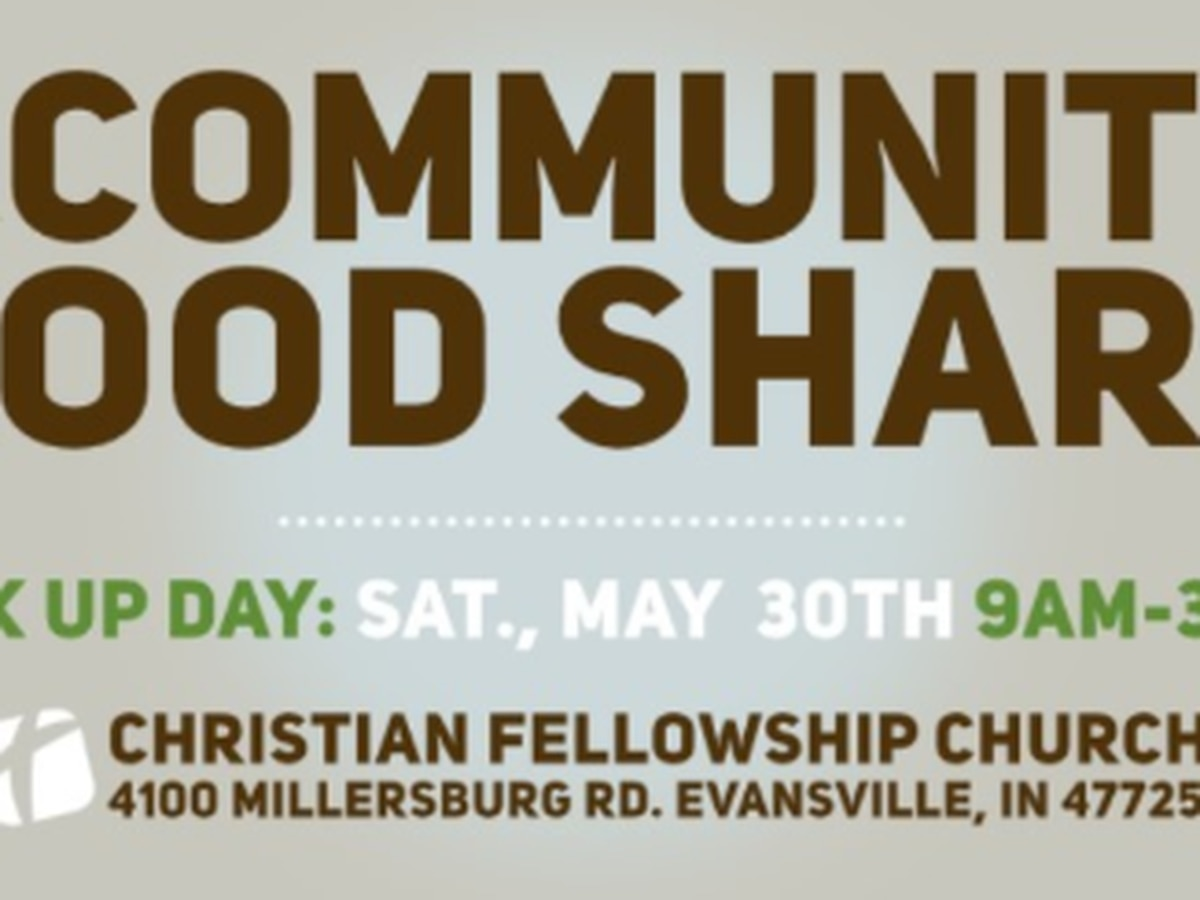 Evansville church hosting community food share event