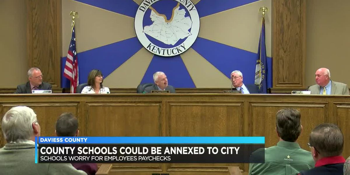 Daviess County schools could be annexed into city limits