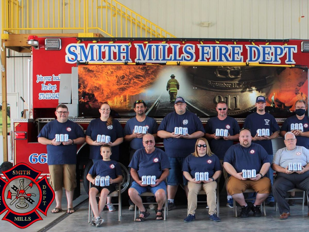 Smith Mills Volunteer Fire Dept. receives water for upcoming wildfire season
